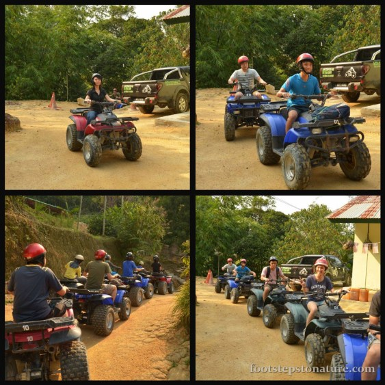 Following the trial run, we were all set to take on the jungle, VROOM VROOM!